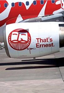 Ernest Airlines motore